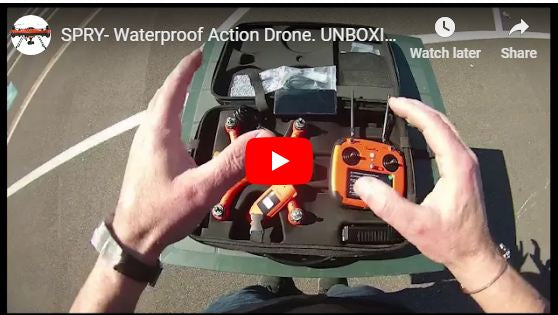 Spry - Waterproof Action Drone