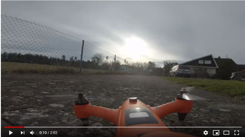 Spry Drone as a racing drone.