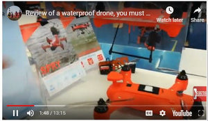 Review of Swellpro Waterproof Drones