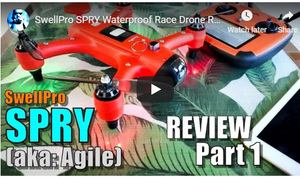 Spry Drone Review and Set Up
