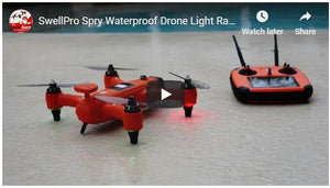 Spry Waterproof Drone Light Rain Test