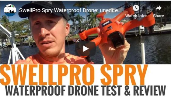 Spry Unedited Waterproof Drone Test and Review
