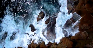Splash Drone 3 Through The Rocks and Sea
