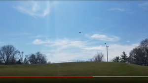 Splash Drone Against 37mph Wind Speed