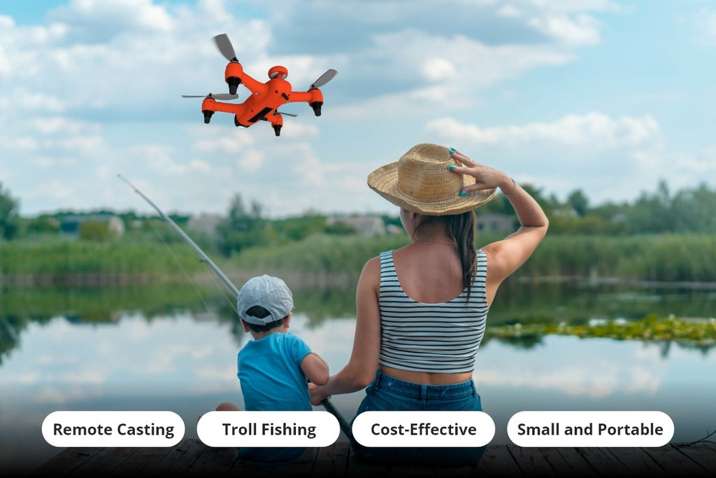 fishing drone spry