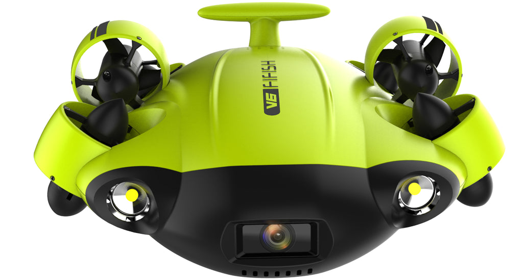qysea fifish underwater drone LED