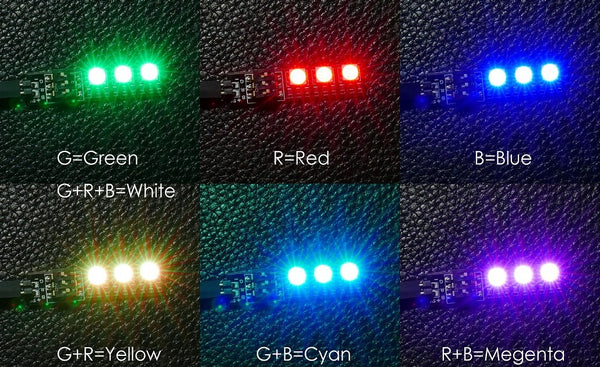 RGB LED Colors