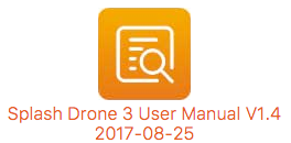 Splash Drone 3 Manual