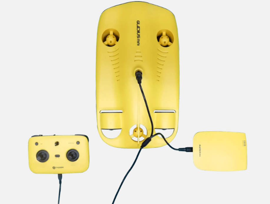 underwater drone battery charger urbandrones.com