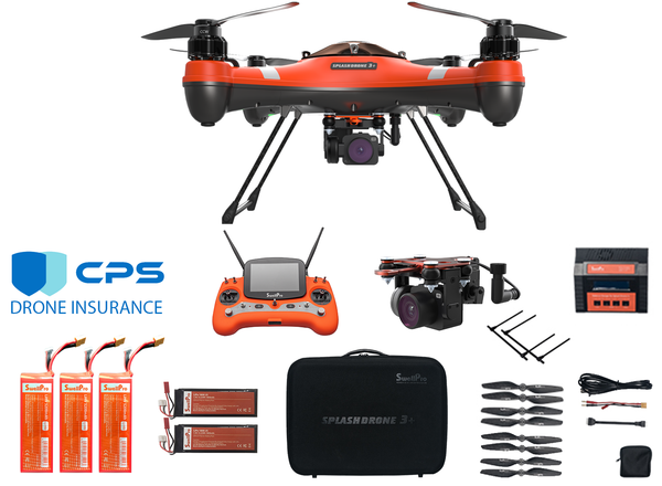 SwellPro Splash Drone 3 Plus Fishing Bundle