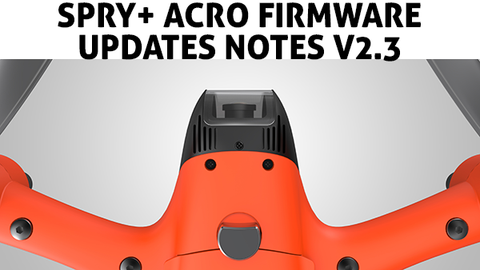 Swellpro spry acro firmware