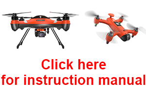 SwellPro Spry Drone Manual and Instructions