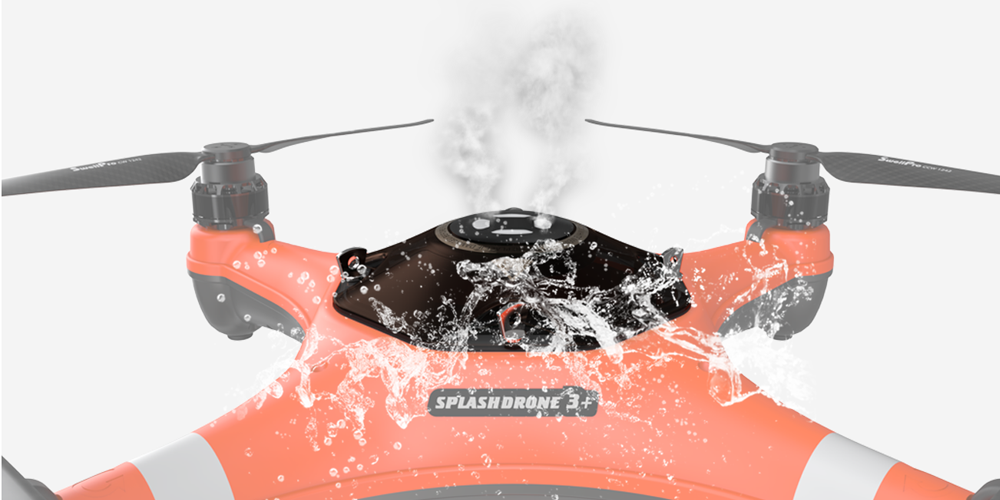 Splash Drone 3 plus ventilation technology