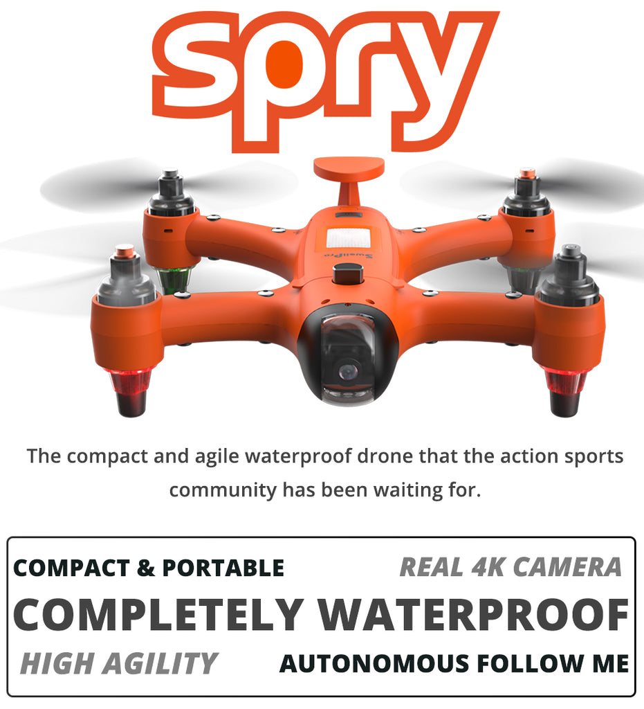 Swellpro Spry waterproof drone official image