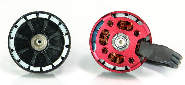 RS2205S Racing Motors from EMAX Red Bottoms