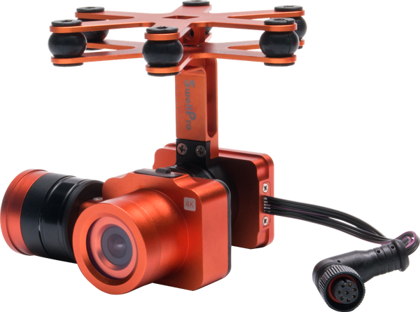 Splash Drone 3 AUTO SwellPro 4K Camera Gimbal
