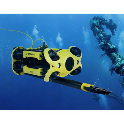 Chasing Underwater Drone Sample collection