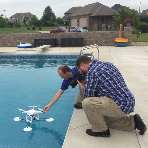 dji phantom waterproof