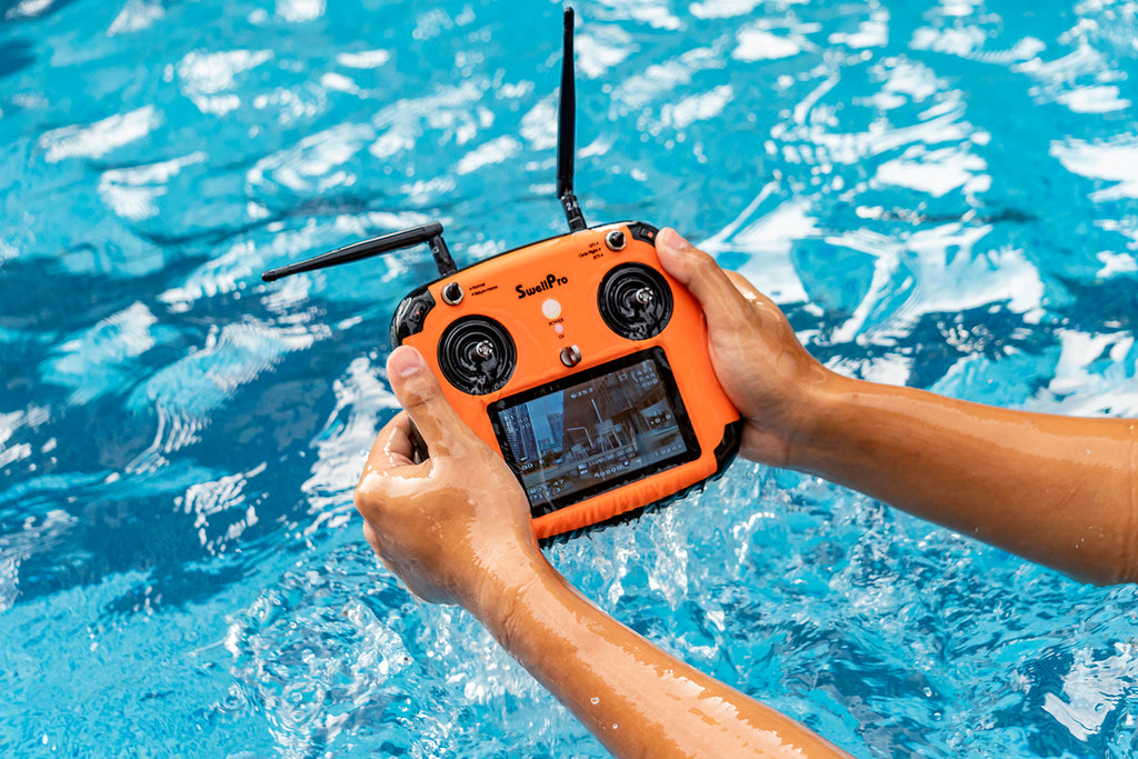 Waterproof SwellPro remote control
