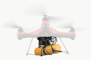 PL3 Payload Release System with Life Buoy and Search and Rescue SAR 1 Kit (DRONE NOT INCLUDED) - Urban Drones