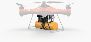 PL3 Payload Release System with Life Buoy and Search and Rescue SAR 1 Kit - Urban Drones