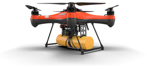 PL4 Payload Release System with Life Buoy and Search and Rescue SAR 2 Kit (DRONE NOT INCLUDED) - Urban Drones