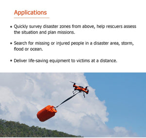 Splash Drone 3 Plus For Rescue - Urban Drones