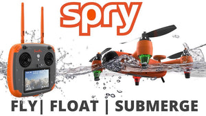 Swellpro Spry drone with waterproof remote