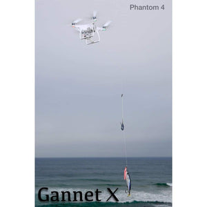 Bait Release for DJI Phantom 3 and 4 for Drone Fishing by Gannet