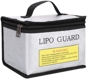 Fireproof Explosion proof Safe Bag for Lipo Battery Storage and Charging - Urban Drones