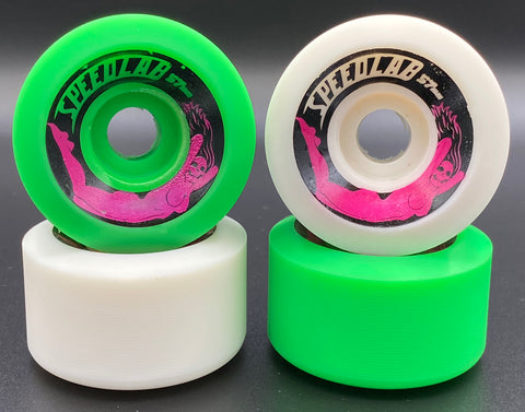 Bombshells 57mm/99A - Special Edition (2 Green & 2 White)