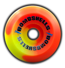 Bombshells 57mm/99A - Limited Edition Orange/Yellow split