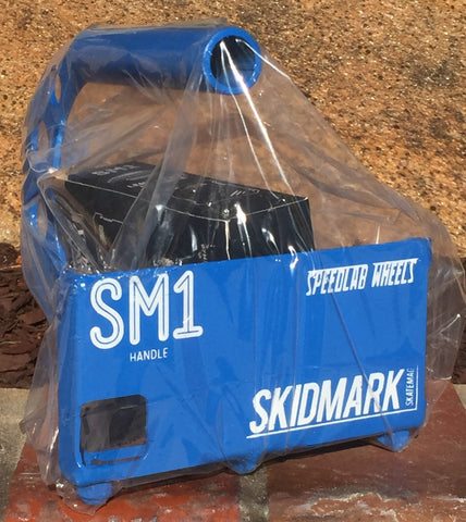 Speedlab Wheels custom Skidmark Skatemag #SM1Handle (Blue)