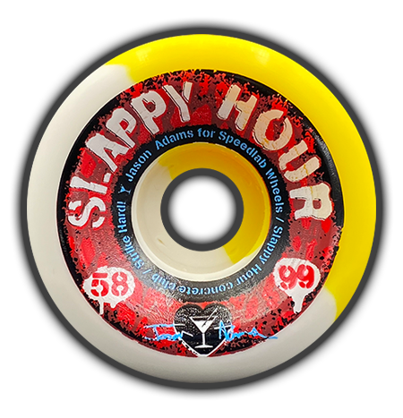Slappy Hour 58mm/99A - Jason Adams Pro model