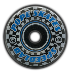 Speedsters 62mm/101A  (Blue/Black split)