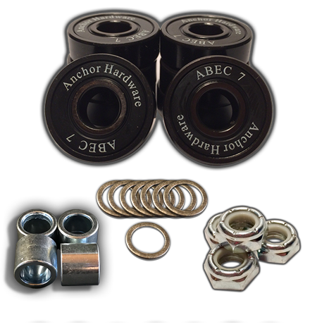 Anchor Hardware Axle-to-Axle Kit = Anchor Hardware + Speedlab Wheels