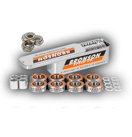 Bronson Axle-to-Axle Kit = Bronson G3 bearings + Speedlab Wheels