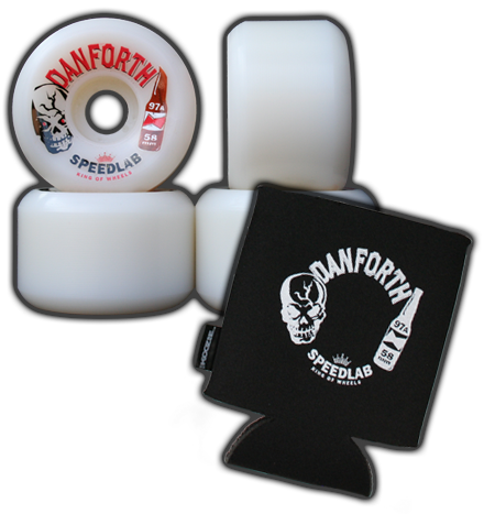 Bill Danforth Pro model 58mm/97A + **Limited** Koozie Combo