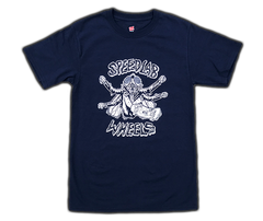 T-Shirt 'Skate Fly' (short sleeve/Navy & Youth Sizes in Black)