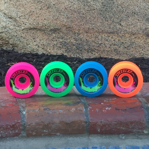 *Limited Special* Mixed set of Bombshells 57mm/99A (1 green, 1 orange, 1 pink & 1 blue)