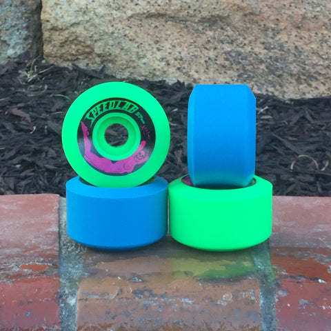 *Limited Special* Mixed set of Bombshells 57mm/99A (2 green & 2 blue)