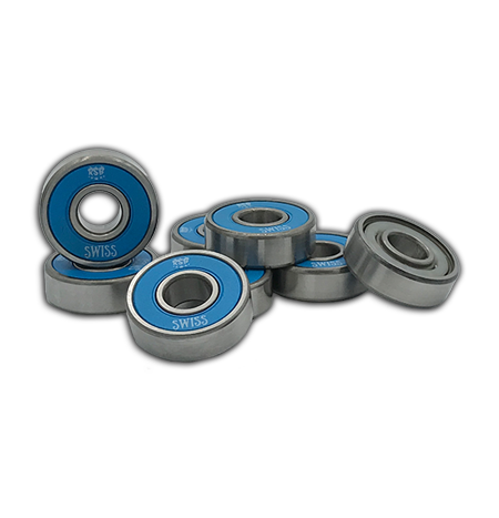Rock Star Bearings - Swiss Blue Shield