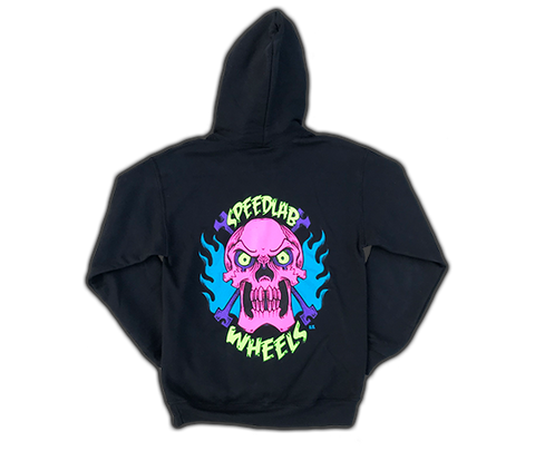 Hooded Sweatshirt 'Skull' (long sleeve/black)