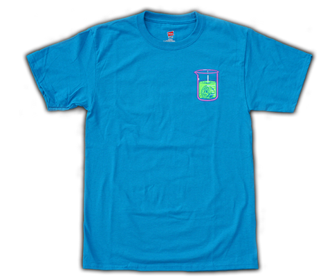T-shirt 'Bombshell' (short sleeve/teal)