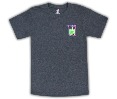 T-shirt 'Bombshell' (short sleeve/charcoal heather)