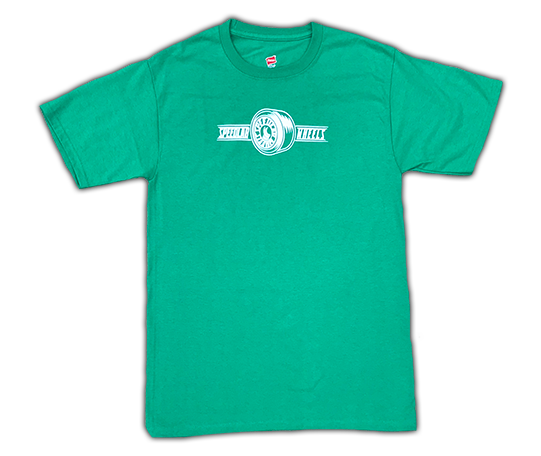 T-Shirt 'Wheel Logo' (short sleeve/Green)