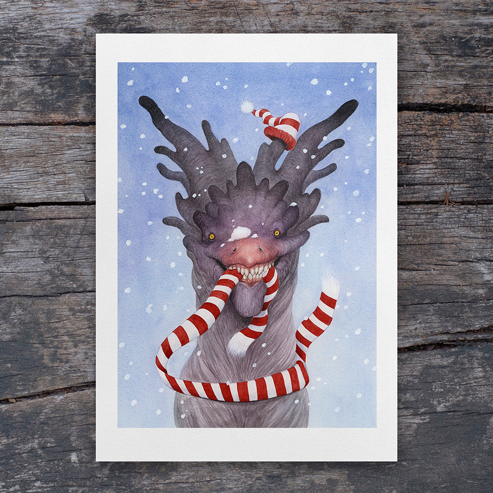Winter Woolies - A4 Art Print