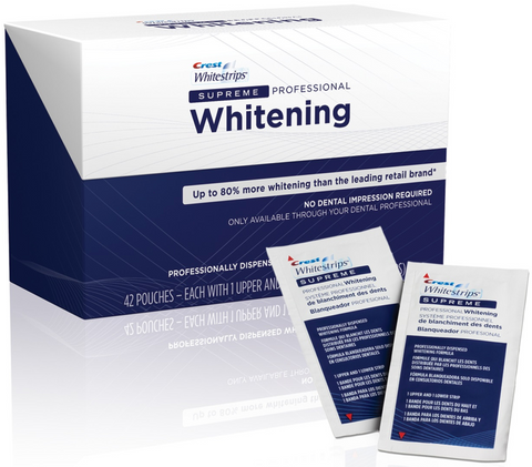 Crest 3D Whitestrips Supreme Professional Strength Tandblekning