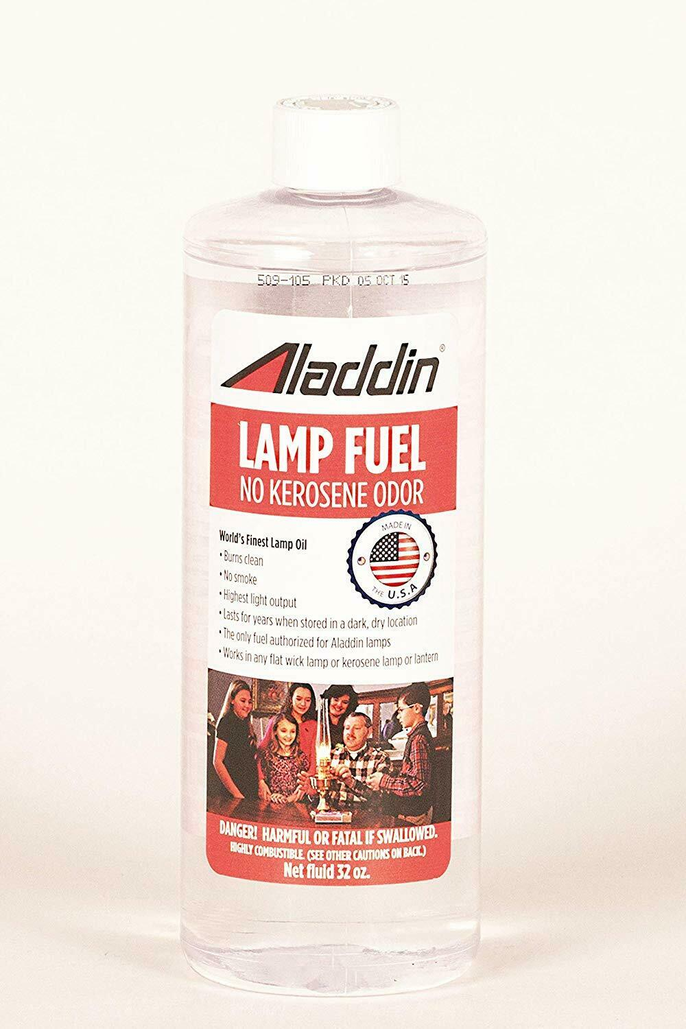Aladdin lamp Kerosene oil fuel - 32oz ( 1 litre )