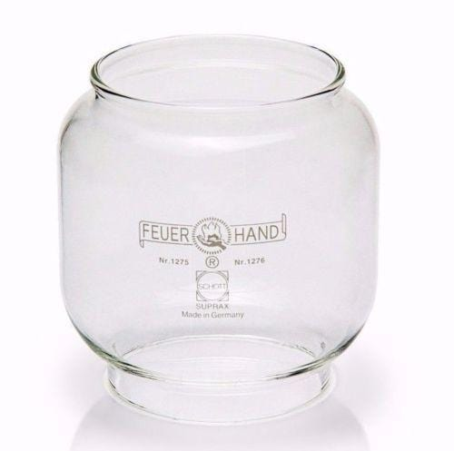 Feuerhand clear glass chimney For lanterns